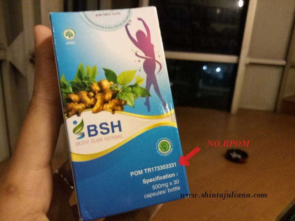 Body Slim Herbal sudah terdaftar di BPOM
