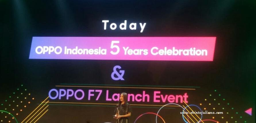Lauching OPPO F7