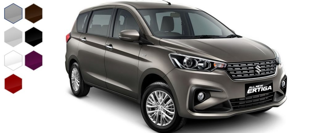 Pilihan warna the New Ertiga