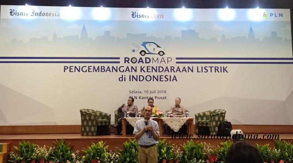Roadmap Pengembangan kendaraan listrik di Indonesia 1