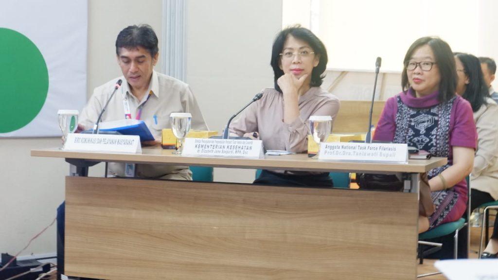 Bersama Wujudkan Indonesia Bebas Filariasis Tahun 2025