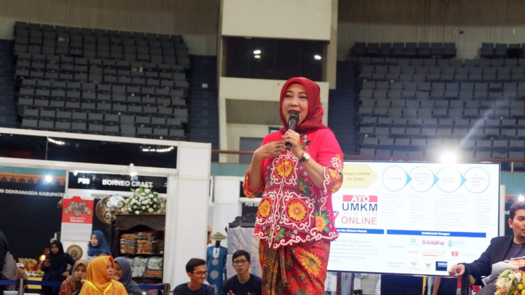 Septriana Tangkary, selaku Direktur Informasi dan Komunikasi Perekonomian & Maritim.
