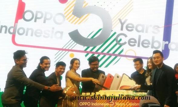OPPO Indonesia 5years Celebration