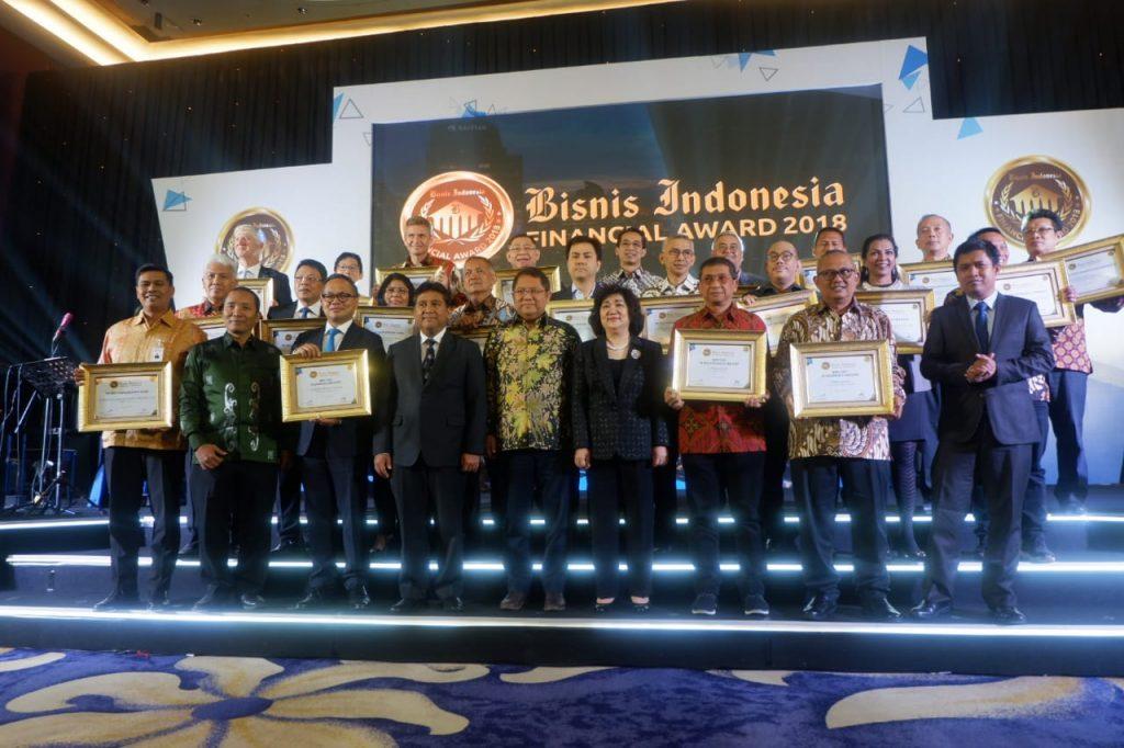 Selamat kepada para pemenang penghargaan Bisnis Indonesia Financial Award 2018