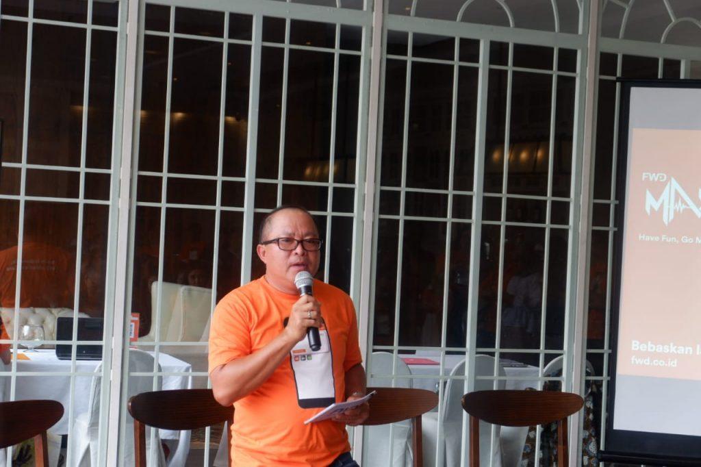 Pak Arlius Tealaubuana, VP Head of Business Development Corporate care FWD Life