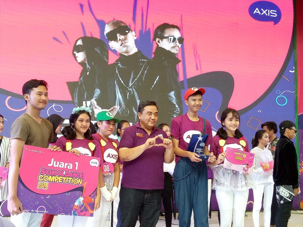 Juara 1 Axis Dance Competition 2018 SMA Letris Tangerang Selatan