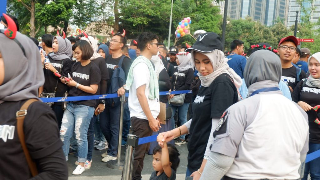 Mandiri Karnaval 2018, dari Mandiri untuk Mandirian