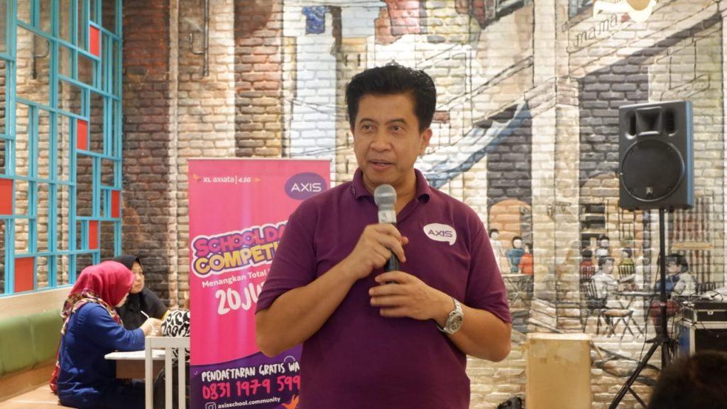 Vice President Region XL Axiata Jabodetabek, Bambang Parikesit