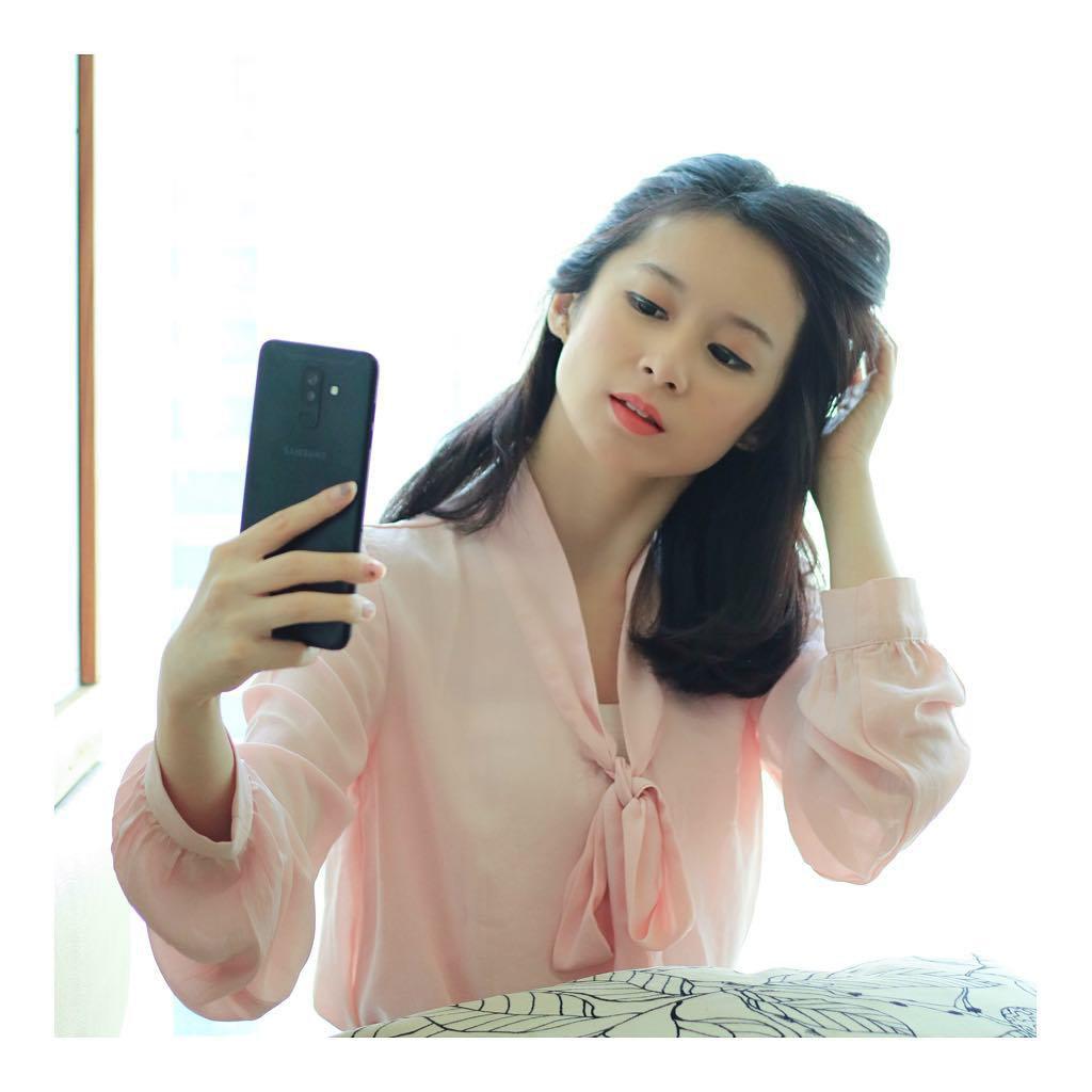 Selfie dengan Samsung Galaxy A7