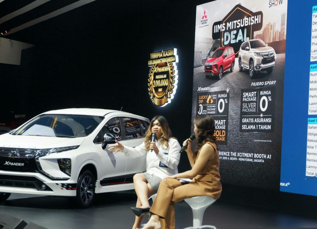 Talkshow bersama jouska di Booth Mitsubishi
