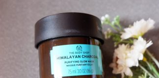 The Body Shop Himalayan Charcoal Glow Mask