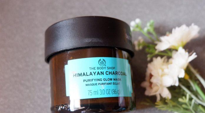 The Body Shop Himalayan Charcoal Glow Mask