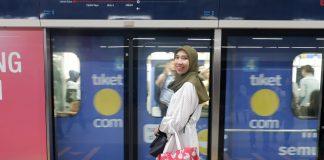 Pengalaman naik MRT