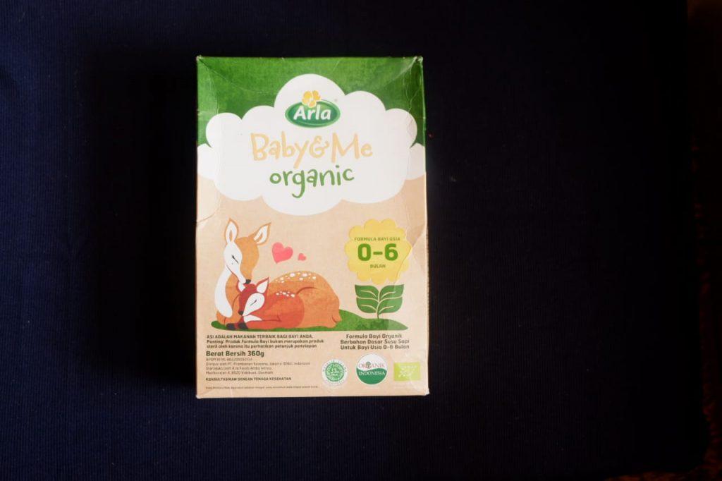 kemasan Arla puregrow organik (depan)