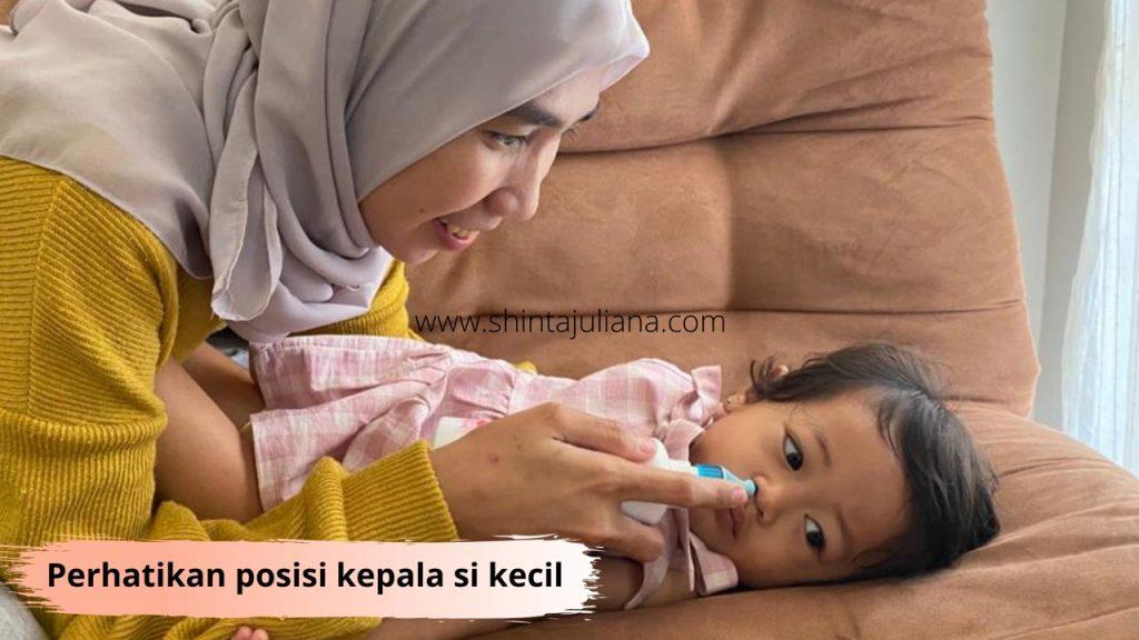 Cara pemakaian Respimer Baby